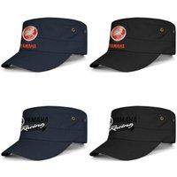 tampões militares da bola venda por atacado-Yamaha motocicleta logotipo azul marinho Womens Mens Military Hat Ball Cap Summer Travel Hats