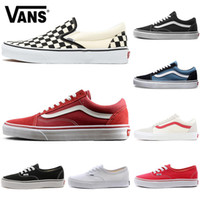 2020 Van Old Skool Classic canvas Casual Shoes Men Women fear of god skate flat skateboard platform mens trainers Sports sneakers