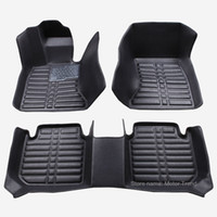 Wholesale 3d car floor mats resale online - Custom fit car floor mats for Corolla th th th generaton D all weather car styling rugs carpet floor liners
