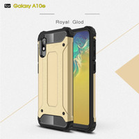 y5 teléfonos al por mayor-Fundas de teléfono celular de armadura resistente resistente para Samsung Galaxy A10E A20E A20 Huawei P30 Pro Y5 2019 Xiaomi Pocophone F1 Fundas a prueba de golpes