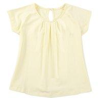 top bebé amarillo al por mayor-Cheaper Girls 100% Cotton Summer T-shirt Niños Niña Rosa Azul Amarillo 2-6T Vestido suelto Top Tees Ropa Bebé Niños Ropa