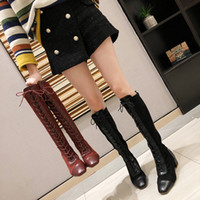 Wholesale high heeled clogs for sale - Group buy Autumn Boots Winter Shoes Women Clogs Platform Booties Ladies Luxury Designer Bootee Woman Sexy Thigh High Heels High Sexy