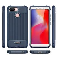 huawei onur metal durumda toptan satış-Lüks darbeye dayanıklı kılıf iphone 7 8 x xs max için huawei p20 mate10 20 nova 3 kılıf için Yumuşak TPU Telefon arka kapak Onur 7A 8X coque