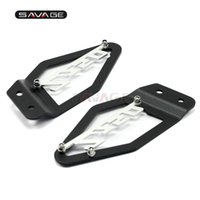 Wholesale protector for kawasaki resale online - Foot Peg Heel Plates Guard For KAWASAKI Z750 Z750R Footrest Pedal Protector Motorcycle Accessories Z