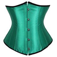 taille plus corset achat en gros de-Corset sous-buste gothique et bustiers cinch taille Top Body Body Shape Plus Size