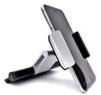 schlitzhalterung großhandel-Halterung für Autotelefon mit CD-Steckplatz Unterstützung für flexibles Telefon im Auto Handy GPS-Halterung Unterstützung für hochwertige Lüftungsschlitze Neu