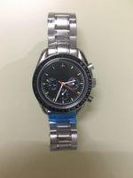 relógios de pulso venda por atacado-Relógio Automático Super Series Retro dos homens 41mm Grande Mostrador de Aço Inoxidável De Couro Blu-ray Revestimento Clássico Relógio de Edição Limitada