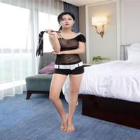 ingrosso pezzo di rete a rete-Le imbracature delle donne sexy di un pezzo di abbigliamento in mesh divertimento lingerie salto aperto calze a rete adulto trasparente libero tentazione maglia paio giocattoli del sesso
