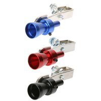 Wholesale bov pipe resale online - Universal Car Turbo Sound Whistle Muffler Exhaust Pipe Whistle Fake Blow off BOV Simulator Whistler for Vehicle Size S Promotion