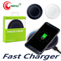 Wholesale best qi chargers online – Best QI wireless charger Adapter Charger Pad For IP X XS XR Galaxy S6 S7 EDGE S8 S9 S10 Plus Note wireless charger receiver