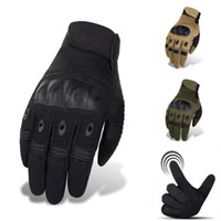 Wholesale new tactical gloves for sale - Group buy 2019 New All Finger Tactical Gloves Outdoor Mountaineering Combat Fighting Anti Slip Anti Slip Protective Gloves Touch Screen M353Z