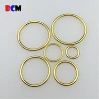 bikinis-ring großhandel-Umweltfreundliche verschiedene Größen Bikini / Büstenhalter-Goldzinklegierungs-Zusatz-Büstenhalter-O-Ring