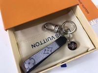 presentes da mostra de forma venda por atacado-NOVA Paris Mostrar Chaveiro M61950 Fashion Designer Car Chaveiros Saco Decoração Presentes com Caixa