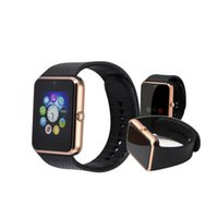 ingrosso guarda iphone sync-GT08 Smart Watch Sync Notifier Supporto Sim Card Connettività Bluetooth Apple iphone Android Phone Smartwatch PK Y1 DZ09