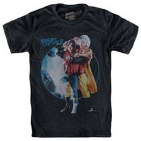 m dvd al por mayor-Camiseta Back To The Future Part 2 Doc Brown Marty Mcfly - Delorean Blu Ray - Dvd