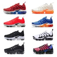Wholesale tables games online - 2019 TN PLUS Men Women Designer Shoes Black Speed Red White Game Royal Anthracite Ultra White Black Running Shoes Sneakers