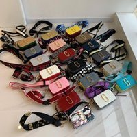 Wholesale ladies black handbags for sale - Group buy 2019 Designer small handbag ladies Messenger shoulder camera bag mini wallet Messenger bag ladies clutch Square bags double zipper handbag