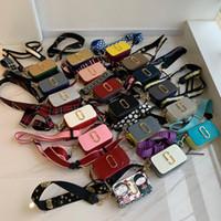 clutch messenger çanta omuz çantası toptan satış-2019 Tasarımcı küçük el çantası bayanlar Messenger omuz kamera çantası, mini cüzdan Messenger çanta bayanlar Kare çantaları çift fermuar çanta debriyaj