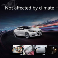 Wholesale car two color resale online - BSM Two color Light Warning Microwave Sensor Blind Spot Mirror with Power Headted Function Radiolocator Based Safety car