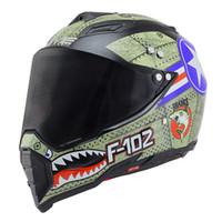 capacetes de moto xxl venda por atacado-BYE Motocicleta Capacete Homens Rosto Cheio Capacete Moto Equitação ABS Material Aventura Motocross Moto DOT Certificação