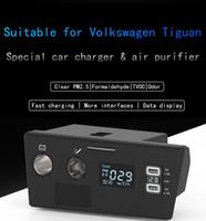 cargador de aire micro al por mayor-Adecuado para cargadores de automóviles y purificadores de aire Volkswagen Tiguan Generador de ozono de aire desodorante para automóviles generador de ozono generador de esteril