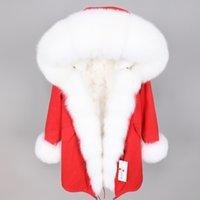 меховая одежда оптовых-Maomaokong winter fashion women's clothing fur lining Fur pike Oversized  hair collar Park coat