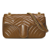 имена дизайнеров мешков оптовых-Горячие высокое качество мода сумки бренды дизайнер сумки Сумка цепь сумка Crossbody кошелек Леди покупки сумки