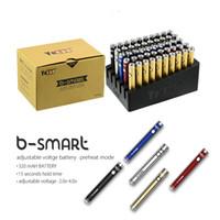 Wholesale vape pen for herb oil resale online - Authentic Yocan B Smart Battery mah Vape Pen Preheat Function Adjustable Voltage For Thread Oil Wax Herb IN Vaporizer box