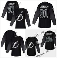 Wholesale blank hockey jerseys sale for sale - Group buy Cheap Mens Nikita Kucherov Nikita Kucherov Blank Tampa Bay Lightning Third Hockey Jersey Top Quality On Sale Size XS XXXL