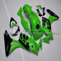 carenagens honda cbr125r venda por atacado-Botls + Presentes artigo motocicleta verde Para Honda 2005 CBR125R 2002-2007 2003 2004 2005 2006 kit de Carenagem Motor ABS