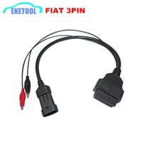 Wholesale alfa adapter resale online - OBD2 Connector Cable PIN to PIN Auto OBD2 Adapter Pin Alfa Lancia For Cars Car Diagnotsic Cable