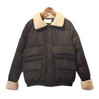 корейский стиль куртки оптовых-Женщины корейского стиля хлопчатобумажная куртка с коротким ягненком шерсть мягкая зима теплый хлеб студентов студенток широкий хлопок одежда женский