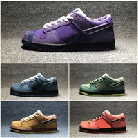 elmas ayakkabı tasarımcısı toptan satış-Mor Istakoz Elmas Su Moda Tasarımcısı Yıldız Taban Rahat Spor Ayakkabı Kavramları x SB Dunk Düşük Kaykay Ayakkabı 36-45