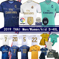 Wholesale james shirts for sale - Group buy 2019 Real Madrid Soccer Jersey HAZARD BALE ISCO JAMES soccer shirt ASENSIO ISCO MARCELO madrid camiseta de fútbol