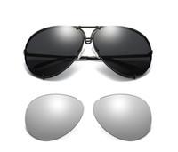 Wholesale color tinted sunglasses resale online - Hot Sell Fashion interchangeable sunglasses women Tinted Trendy Sun Glasses Men Replaceable Lens Glasses Gozluk tmall