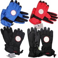 Wholesale warmest winter mittens women resale online - Oudoor Gloves with Tag Brand Down Finger Gloves Canada Waterproof Windproof Men Women Goose Mittens Thick Winter Warm Skiiing Gloves C9502