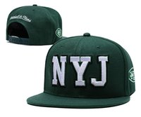 şapkalar toptan satış-2019 En Kaliteli erkek NY Jets MN Tasarım Snapback Şapka Işlemeli Logo Markalar Ucuz Spor Beyzbol Hayranları Şapka Moda Ayarlanabilir Caps