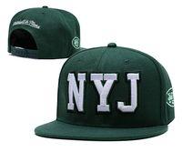 ingrosso disegno del logo di baseball-2019 NY Jets da uomo di alta qualità MN Design Cappelli snapback Marchi con logo ricamato Sport economici Ventilatori da baseball Cappello Moda Cappellini regolabili