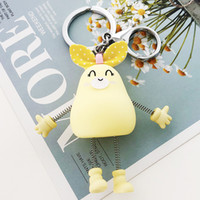 Wholesale springing key chains resale online - 2019 Cute little Decompression spring Mouse Key chain Animal The little mouse Key Chains Ring Bag Pendant Unisex Gift