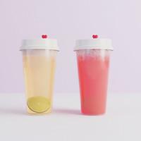 tek kullanımlık bardak toptan satış-500ML Tek Kullanımlık Plastik Bardaklar Kapaklı Parti İçme Şeffaf Süt çay Bardak Moda Kalınlaşmak Isıya Dayanıklı Soğuk Sıcak İçecekler Kupa