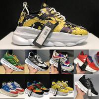 ingrosso scarpe da skate di camoscio-2020 catena calda design Reazione Lusso Uomo Scarpe Donna Sneakers Runner Snow Leopard nero camoscio bianco formatori di moda in pelle di scarpe