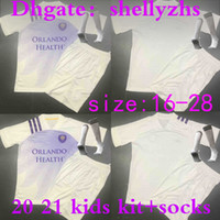 Wholesale orlando soccer jersey resale online - kids kit socks MLS orlando Soccer Jerseys youth city NANI Pereyra DWYER Football Shirt JOHNSON boys soccer shirts