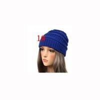 kablo örme kışlık şapka toptan satış-25 renk yetişkin Kadın Kap Şapka Skully Trendy Sıcak Tıknaz Yumuşak Streç Kablo Örgü Hımbıl Beanie Kış Şapkalar Kayak Kap 60 adet