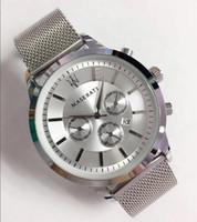 novos itens de venda venda por atacado-Item quente Venda Definir trado lazer moda Novo Luxo Esporte De Quartzo maserati Relógios homens Moda Casual relógio de quartzo