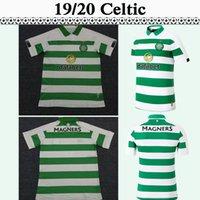 novos uniformes marrons venda por atacado-19 20 Celtic FORREST GRIFFITHS Casa Mens Camisas De Futebol Novo MCGREGOR SINCLAIR MARROM ROGIC CHRISTIE Camisas De Futebol Uniformes De Manga Curta