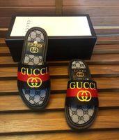 yaz beyaz çantaları toptan satış-(Toz Torbaları + Kutu) sandalet Medusa Scuffs Marka erkekler yaz huaraches terlikler terlik siyah beyaz marka loafer'lar slaytlar tasarımcı sandalet Slid