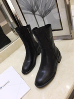 Wholesale pvc safety shoes resale online - Leather Ankle Boots Women Boot Riding Rain Boots Booties Sneakers High Heels Lolita Pumps Dress Shoes