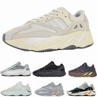 koşu ayakkabıları toptan satış-2019 Erkek Vanta 700 V2 Koşu Ayakkabıları Kanye West Analog MauveWave Runner Atletik Spor Eğitmenler Sneakers Kadınlar Açık Koşu Ayakkabısı