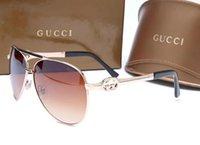 sommer fahren sonnenbrille groihandel-SOMMER Damen- und Herrenbrillen aus Metall Erwachsene Sonnenbrillen Damen Markendesigner Mode Schwarze Brillen Mädchen fahren Sonnenbrillen 4815