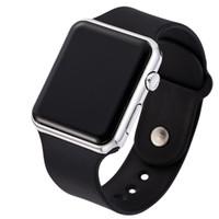 ingrosso orologi da polso unisex-LED Display Digital Sports Watches Donna Silicone Sport Wristband Casual Fashion Ladies Orologio Uomo Unisex regalo di compleanno coppia